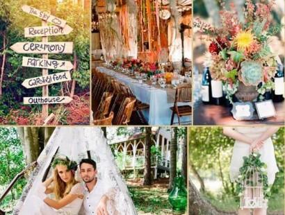 Изысканная свадьба в стиле бохо: окунитесь в волшебную сказку